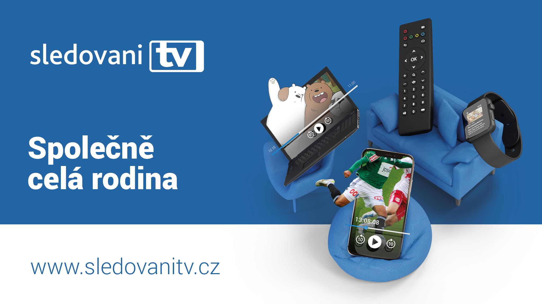Sledovani tv televize přes internet