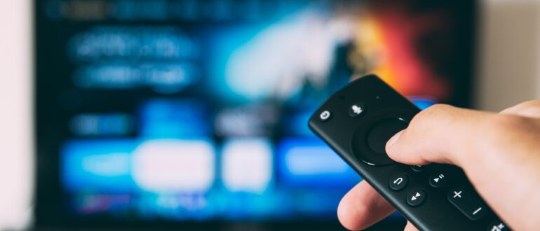 Sledovani TV televize ovladac